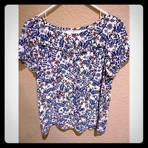 Floral blouse by Loft